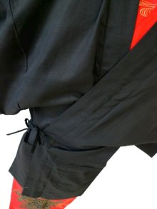 Other Images1: Outer wear -haori- Black, Cotton, One size fits all