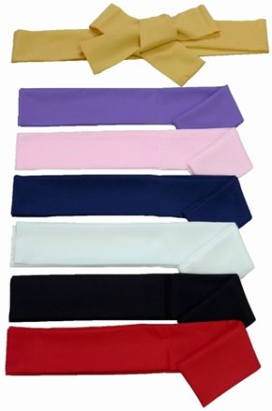 Photo1: Sash / Japanese -color sash- choose from 7colors
