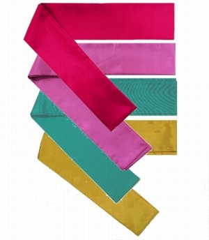 Photo1: Sash / Japanese -shiny sash- choose from 4colors