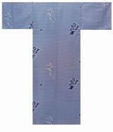 Boy's Japanese Yukata -hisha- White, Cotton, 45in / Rook