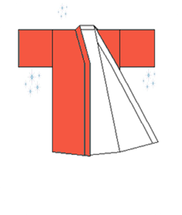 How to fold KIMONO and YUKATA 8